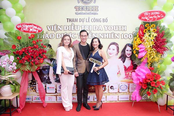 Sao Việt tụ hội mừng khai trương Viện chăm sóc da Youth