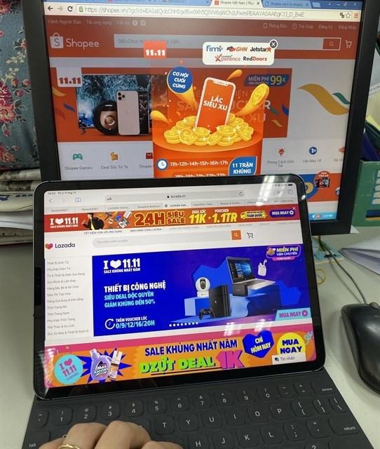 year-end online shopping frenzy,Lazada,Tiki,Sendo,Shopee,year-end shopping season,post-Singles Day sales,Southeast Asia,Vietnam