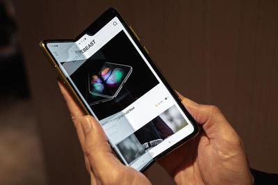 Galaxy Fold 2 sẽ dùng kính cường lực siêu mỏng độc quyền
