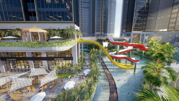 Tổ hợp 'Home Resort' đầu tư công nghệ tương tác thực tế ảo cho trẻ em