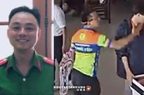 Thực hư thông tin Thượng uý ném xúc xích vào nhân viên là con Phó giám đốc CA Thái Nguyên