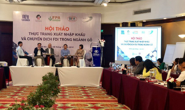 Vietnam's wood export,US-China trade war,promoting sustainable forest management