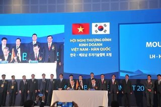 Vietnam, S. Korea target US$100 billion trade by 2020