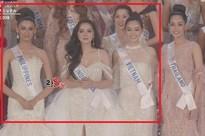 Bức ảnh hết hồn: Tường San - Lâm Khánh Chi - Như Quỳnh lập team đi thi Miss International 2019?