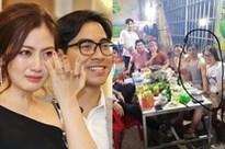 Giữa tin đồn ly hôn Ngọc Lan, diễn viên Thanh Bình bị lộ ảnh thân mật với cô gái lạ