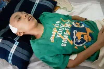 Xót xa đứa trẻ 13 tuổi lắc đầu cả ngày đêm vì ung thư não