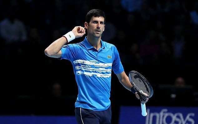ATP Finals 2019,Djokovic,Dominic Thiem