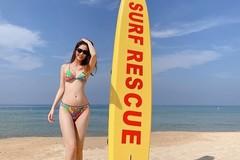 Diễm My 9X khoe thân hình nuột nà với bikini