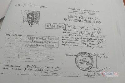 Đắk Lắk thông tin về bằng cấp 3 kỳ lạ của Trưởng phòng Nội vụ huyện