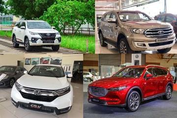 5 chiếc SUV hot nhất Việt Nam tháng 10: Toyota Fortuner giảm nhẹ