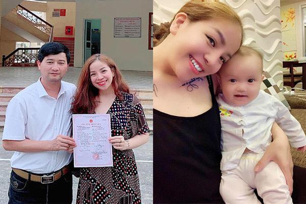 Ca sĩ Minh Chuyên đăng ký kết hôn sau khi sinh con