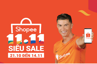 Shopee: 70 triệu sản phẩm được bán ra trong ngày Siêu sale 11.11