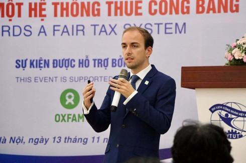 Vietnam,tax reform,Oxfam,VEPR,Johan Langerock,OECD,ASEAN