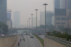Hazardous air pollution engulfs Hanoi