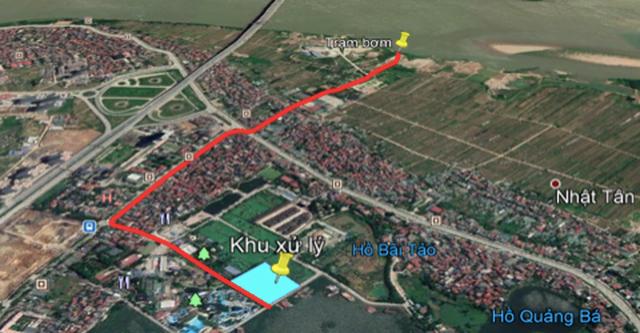sông Tô Lịch,ô nhiễm môi trường,ô nhiễm,hồ Tây