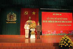 Phó cục trưởng Cục Cảnh sát quản lý trại giam làm GĐ Công an Thái Bình