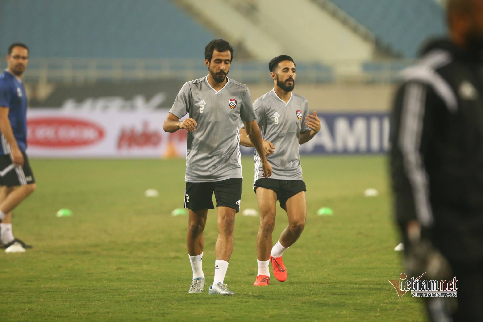 """UAE đến Mỹ Đình, gặp ngay """"đối thủ"""" đáng sợ"""