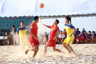 Tuyển bóng đá bãi biển Việt Nam hạ Trung Quốc trên đất Thái