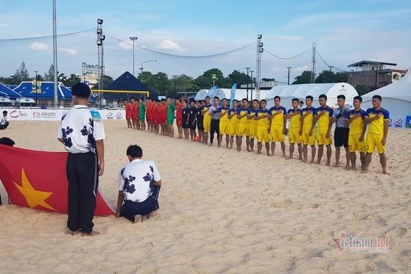 bóng đá bãi biển,tuyển Việt Nam