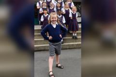 Cô bé 7 tuổi viết thư kiến nghị nhà trường thay đổi trang phục đi học