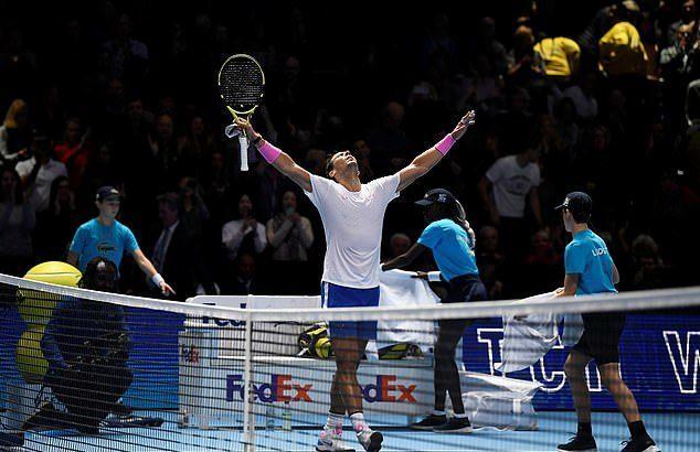 ATP Finals 2019,Nadal