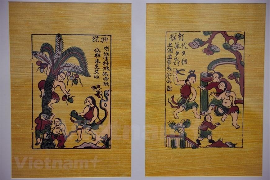 Dong Ho paintings,folk paintings,folk art
