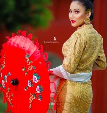 Sắc đẹp mặn mà của thiếu nữ Tai-Ahom