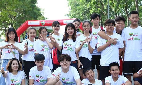Trường Quốc tế Á Châu 3 năm liên tiếp 'Chạy vì trái tim'