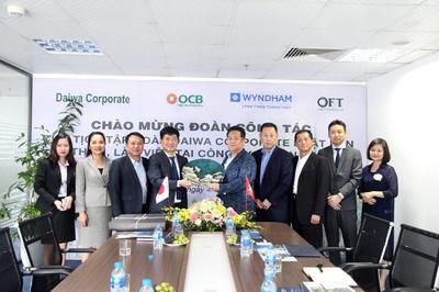 Daiwa Corporate mang căn hộ khoáng nóng Thanh Thủy đến với khách hàng Nhật