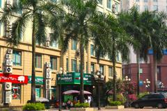 Mỹ Đình - khách sạn giá cao, chung cư cho thuê thành 'hàng hot'