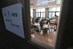 """Cả Hàn Quốc """"im lặng"""" trong ngày hàng trăm ngàn học sinh thi đại học"""