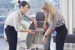 Khám phá ghế ôtô công nghệ 3D cực kỳ thông minh
