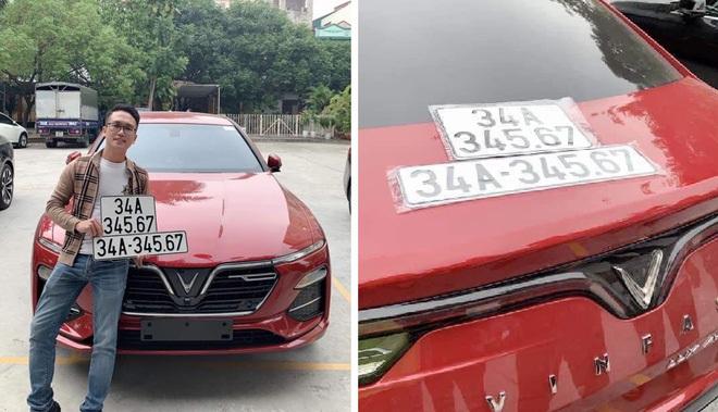 Những chủ xe 'số đỏ' nhất Việt Nam