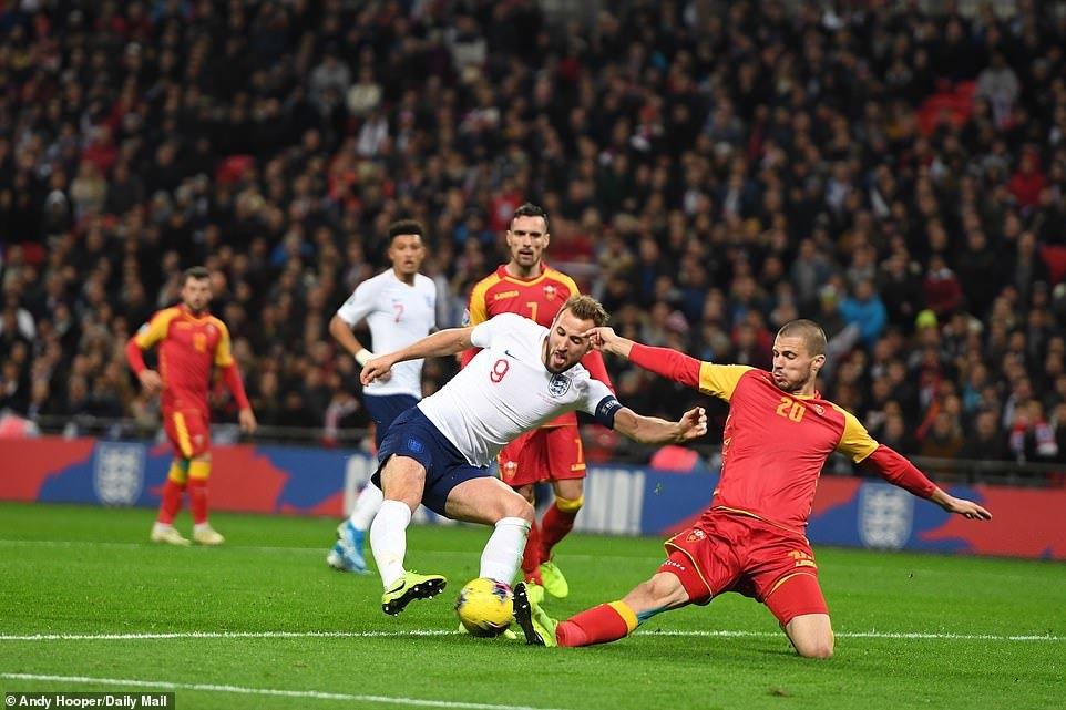 Anh,Harry Kane,Vòng loại EURO 2020