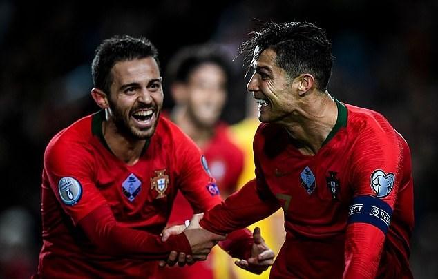 Bồ Đào Nha,Lithuania,Ronaldo,Vòng loại EURO 2020