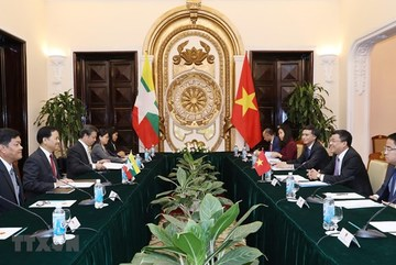 Vietnam, Myanmar hold deputy ministerial-level political consultation