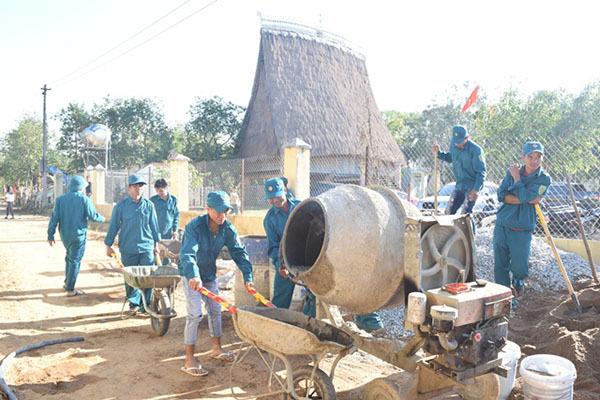 Kon Tumkhông còn xã đạt chuẩn dưới 5 tiêu chí nông thôn mới
