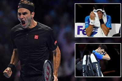 Rửa hận Djokovic, Federer vào bán kết ATP Finals