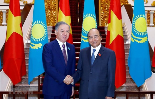 Chairwoman of the National Assembly Nguyen Thi Kim,Chairman of the Mazhilis lower house of the Parlia,Vietnam-Kazakhstan relations,Eurasian Economic Union,ASEAN