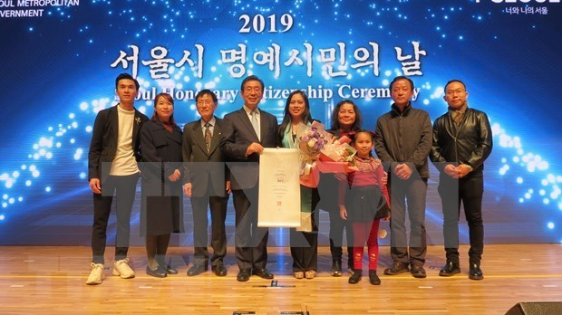 honorary citizens of Seoul,Republic of Korea,Seoul Honorary Citizenship Ceremony,Le Nguyen Minh Phuong,Vietnam,Vietnam News