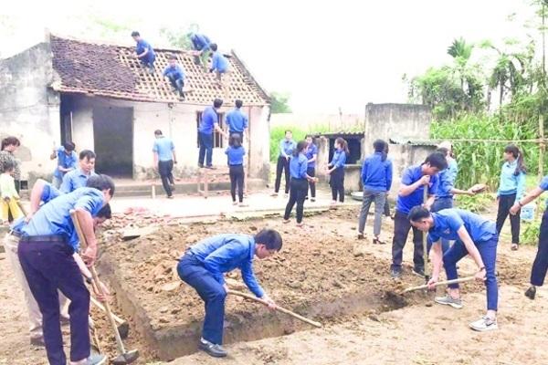 Tuổi trẻ chung tay xây dựng nông thôn mới