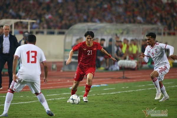 Xem màn trình diễn tuyệt đỉnh của Tuấn Anh trước UAE