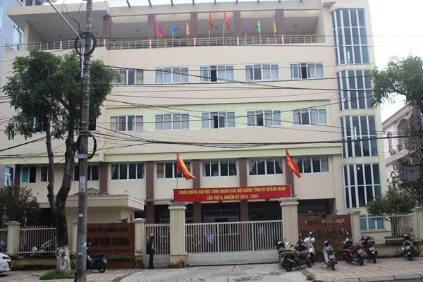Phó phòng Ủy ban kiểm tra Tỉnh ủy Quảng Nam tử vong tại trụ sở