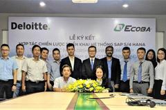 Ecoba Việt Nam 'bắt tay' Deloitte khởi động dự án SAP S/4 HANA