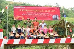Cộng đồng cùng DN tiếp bước đến trường cho trẻ em vùng lũ