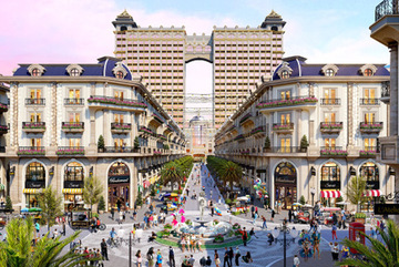 Royal Vạn Phúc - tuyến phố đi bộ thương mại bắt nhịp xu hướng