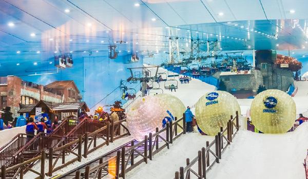 Trải nghiệm không thể quên ở tổ hợp giải trí tuyết Ski Ninh Chữ Bay