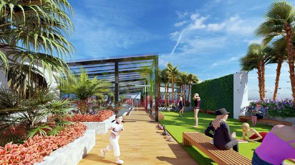 Apec Aqua Park hấp dẫn gia đình trẻ thành thị