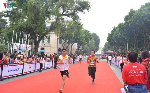 Hanoi prepares to host Kizuna Ekiden Run for Traffic Safety