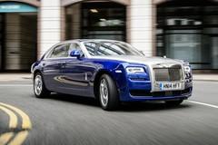 Dừng sản xuất Rolls-Royce Ghost